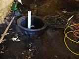 Pictures of Sump Pump And Installation
